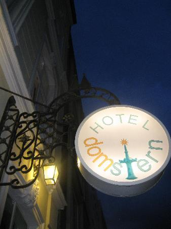Hotel Domstern: Night sign