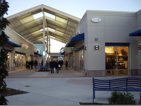 The Jersey Shore Outlets is an outlet mall with a vast selection of quality shops, designer outlet stores and a food court on approximately , square-foot. It is located in Tinton Falls, New Jersey.