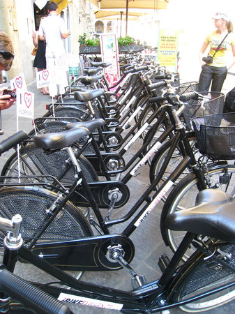 FlorenceTown: Bikes used for the tour.