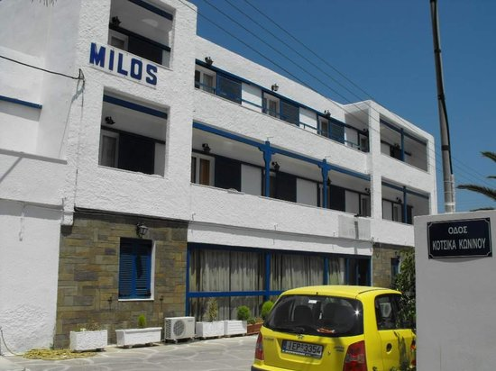 Hotel Milos: Milos Hotel. Lovely,isn't it?