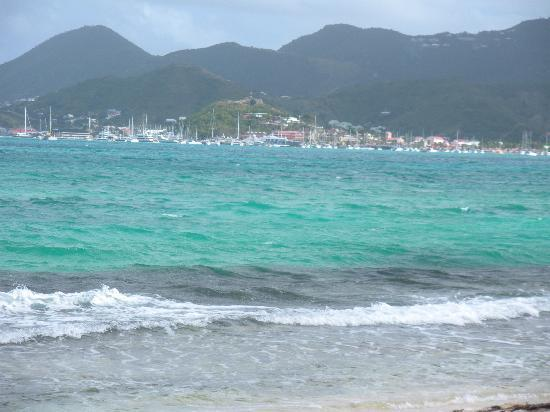 Layla's : Marigot in the distance