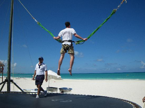 Secrets Maroma Beach Riviera Cancun Bungee Trampoline On The