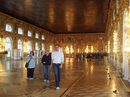 Catherine Palace and Park: The great Hall