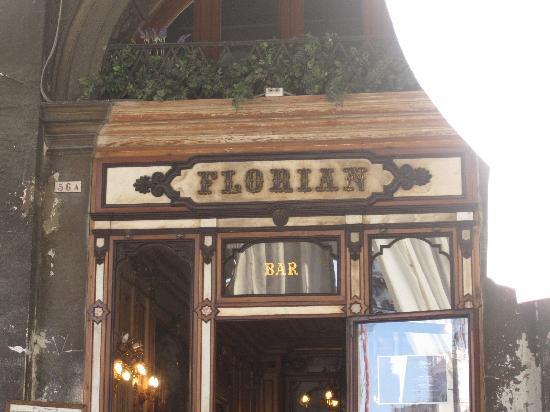 Caffe Florian Venezia: Front entrance
