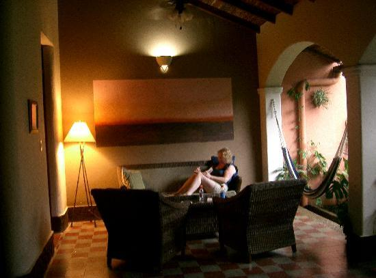 Casa Silas B & B: Relaxing at Casa Silas
