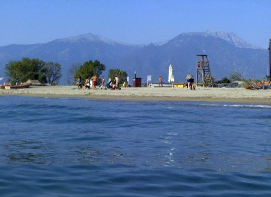 Olympiaki Akti, Greece: olympic beach