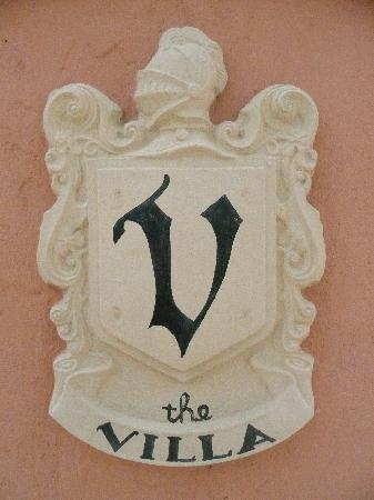 ‪‪The Villa Inn Bed and Breakfast‬: The Villa crest‬