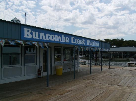 Kingston, Оклахома: Buncombe Creek Marina