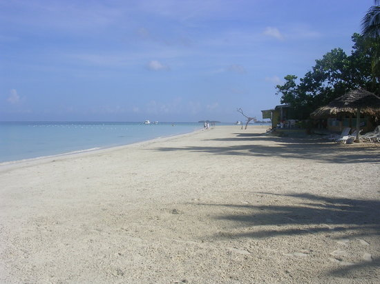 The beach of Negril