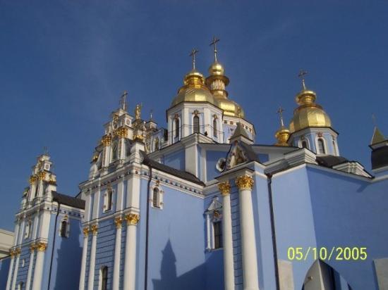 St Michael S Orthodox Cathedral Kiev Ukraine Picture