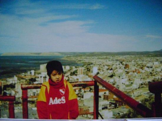 Comodoro Rivadavia, vista de la ciudad y el atlántico