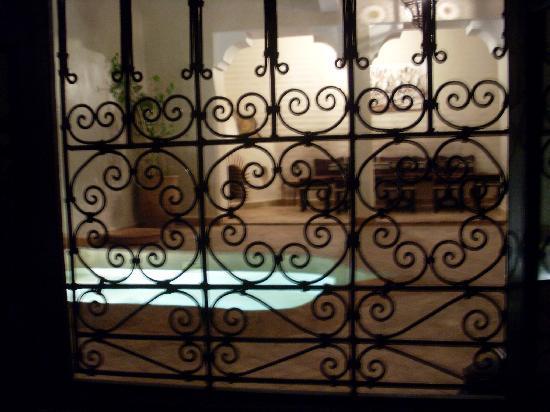 Riad Sharmance: Vue de notre Chambre