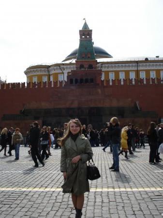 Red Square. Lenin's mausoleum.