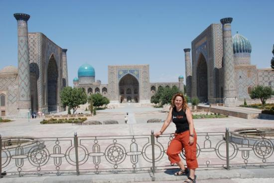 ซามักร์แคนด์, อุซเบกิสถาน: Samarkanda. La super plaza