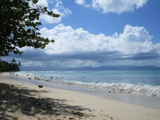 La plage du souffleur port louis grande terre photo - Restaurant la grande plage port louis ...