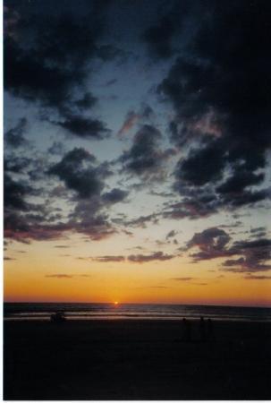 โบรม, ออสเตรเลีย: Cable Beach Sunset, Broome, WA
