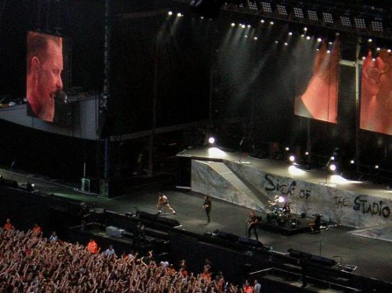 Wembley Stadium: My first and only Metallica concert