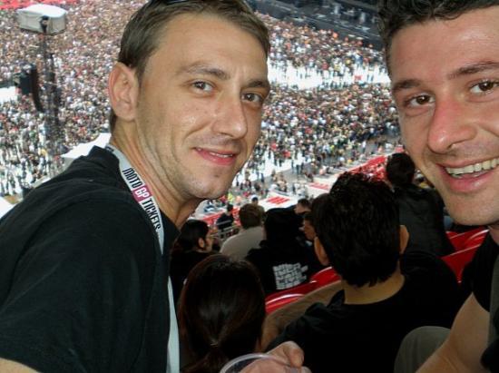 Wembley, Metallica in concert