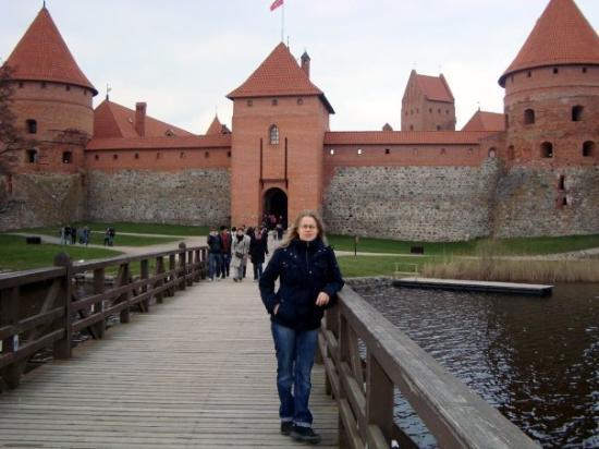 วิลนีอุส, ลิทัวเนีย: Trakain linnan edusta.