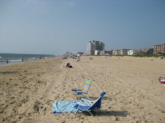 Best Western Ocean City Hotel & Suites: View south at 56th St. 8/18/09