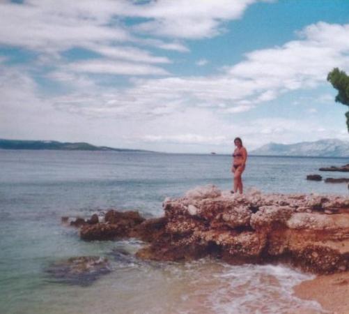 Makarska, โครเอเชีย: Pozor, ať nespadneš!