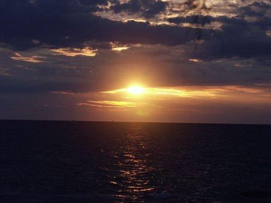 Garda, إيطاليا: Sonnenuntergang