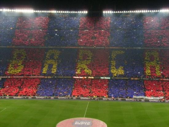Camp Nou: Nummer 1!!!!