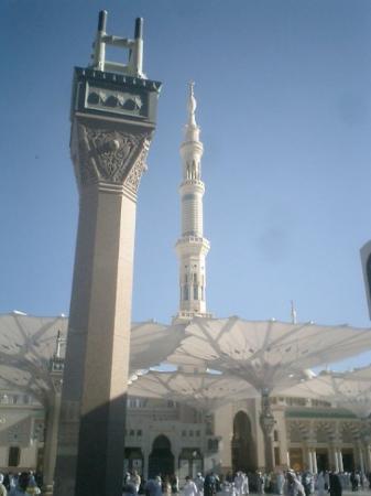 المدينة المنورة, المملكة العربية السعودية: MENARA MASJID NABAWI