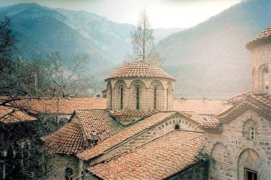 Bachkovo Monastery: Plovdiv, Bulgarije Maart 1995