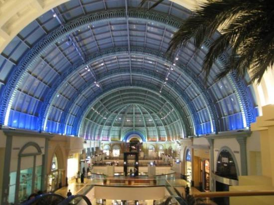 The Mall of the Emirates.