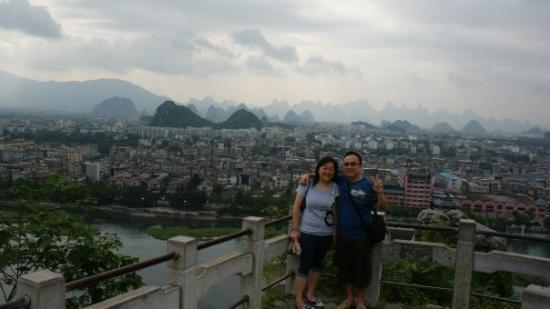 Fubo Hill: 伏波山上望桂林