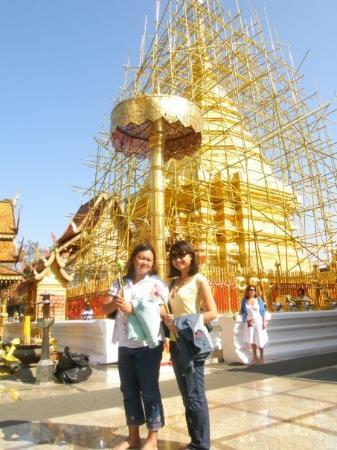 วัดพระธาตุดอยสุเทพ: Golden Temple in Doi Suthep