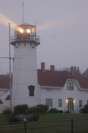 Chatham Lighthouse: Chatham Light at dawn.