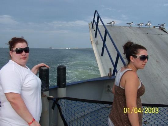 กัลฟ์ชอร์ส, อลาบาม่า: Ferry Ride in Alabama