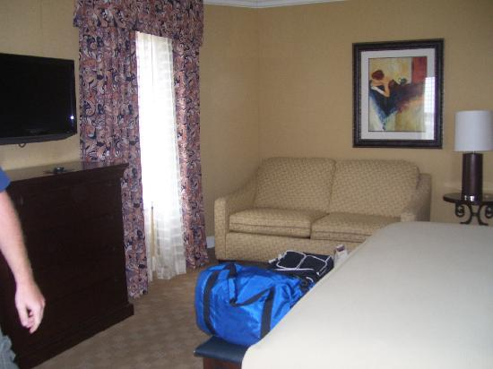 Holiday Inn Express Savannah - Historic District: Pull out couch