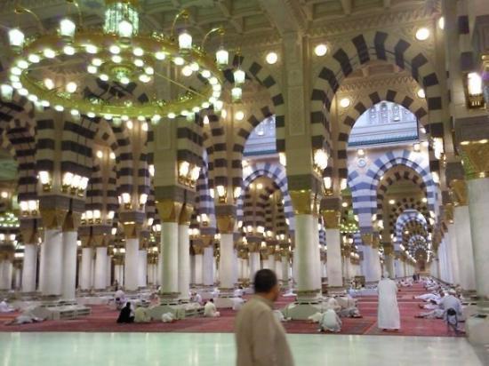 เมดีนา, ซาอุดีอาระเบีย: Masjid Nabwai