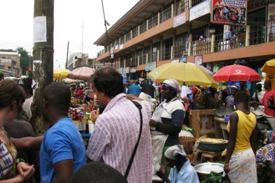 Kejetia Market: 27/7 Kumasi, market