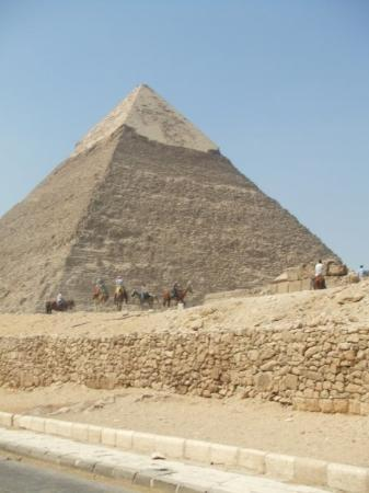 Khafre, the second pyramid ภาพถ่าย