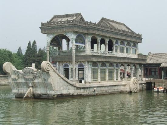 พระราชวังฤดูร้อน: Stone Boat at Summer Palace