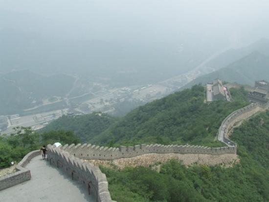 กำแพงเมืองจีน: Taken from the top of the Great Wall