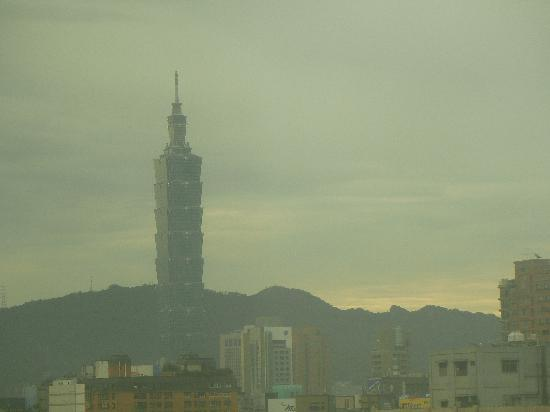 Hotel Taipei Miramar: お部屋から見えました。
