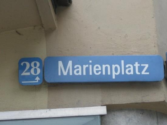 มาริเอนแพล็ทซ์: Da wohn ich auch!!! ;)