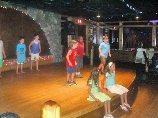 """Pinegrove Family Dude Ranch: Kids dancing at the """"Coketail Party"""""""