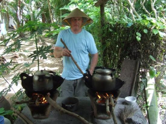 cooking in mekong delta