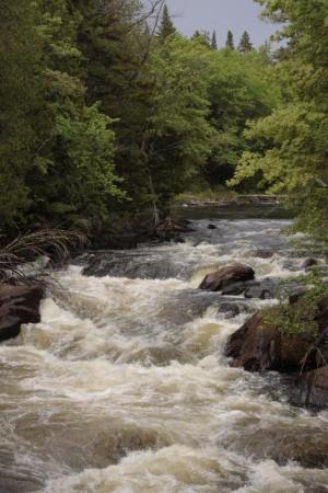 Mont Tremblant, แคนาดา: Des ptites chutes qui donnent envie de jouer dedans