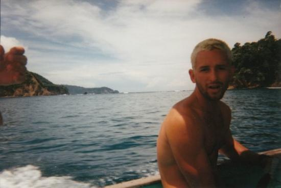 จาโค, คอสตาริกา: Rick Wiggington getting ready for a dive in Costa Rica
