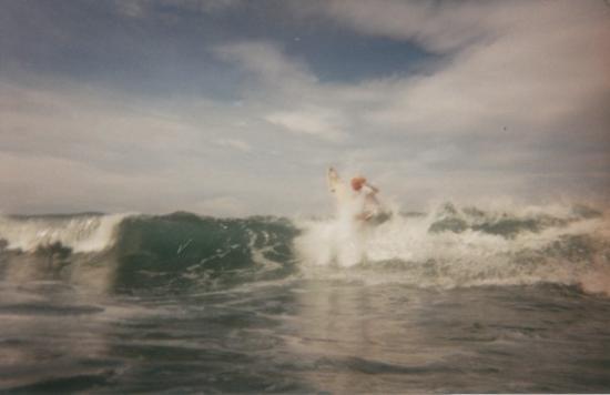จาโค, คอสตาริกา: Rick Wiggington at Hermosa Beach.