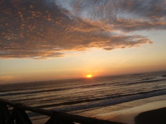 sunset at Pimentel, chiclayo