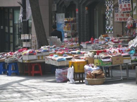 อินซาดง: Insadong Market