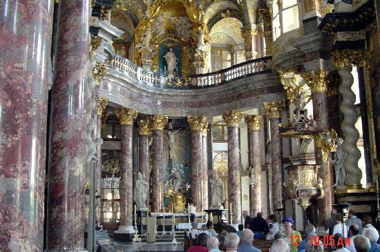 Die Residenz: Part of the bishop's chapel